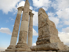 Amman Citadel. Photo Source: Flickr Creative Commons, Charles Pieters