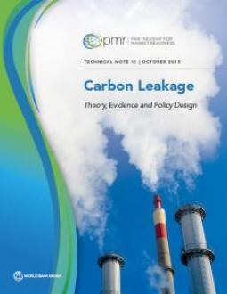 Technical Note on Carbon Leakage: Theory, Evidence and Policy Design